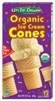 Let'S Do...Organic Ice Cream Cones Organic - 12 Cones