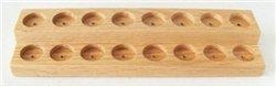 9581 - 2-Tier Oak Display Riser (16 Vial Capacity)