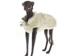 Soft Ermine Faux Fur Reversible Dog Coat (Small)