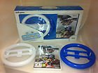 Nintendo Wii Kart Racer by Nordic Games 3 in 1 Racing Wheel Pack