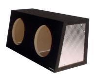 "Obcon Dual 12"" Sealed Hatchback Speaker Box"