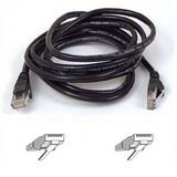 Belkin A3L791-50-BLK-S 50-Foot RJ45 CAT5E Patch Cable, Snagless Molded (Black)