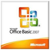 Office Basic 2007 1 pk with Office Pro Trial (MLK) - Version 2 (PC) (This OEM software is intended for system builders only)