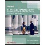 Bus499: Strategic Management