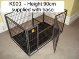 Doghealth K900 puppy exercise pen extra high ( 90 cm /35