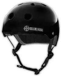 Pro Helmet 187 Killer Pads -Gloss Black - Roller Derby skateboard inline by 187 Killer Pads