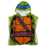 Nickelodeon Teenage Mutant Ninja Turtles Hooded Bath Towel Poncho - 1