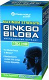 Vitamin World Maximum Strength Ginkgo Biloba Extract, 120 Mg, 200 Capsules
