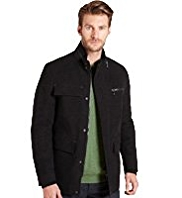 Big & Tall Cotton Rich Moleskin 4 Pockets Jacket