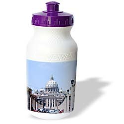 Vacation Spots - Saint Peters The Vatican - Water Bottles