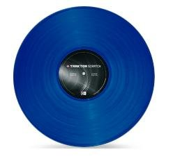 Native Instruments Traktor Scratch Pro Replacement Vinyl Blue