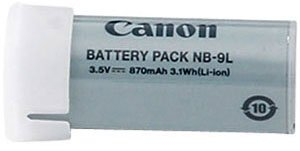 Genuine Canon NB-9L Battery SD4500IS