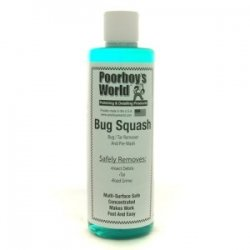 Poorboys World Bug Squash Insect And Tar Remover & 2 Applicator Pads - From ROADUSER DIRECT