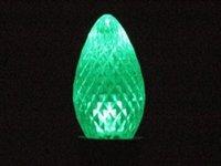 C7 Green Twinkle Led Retrofit Bulb