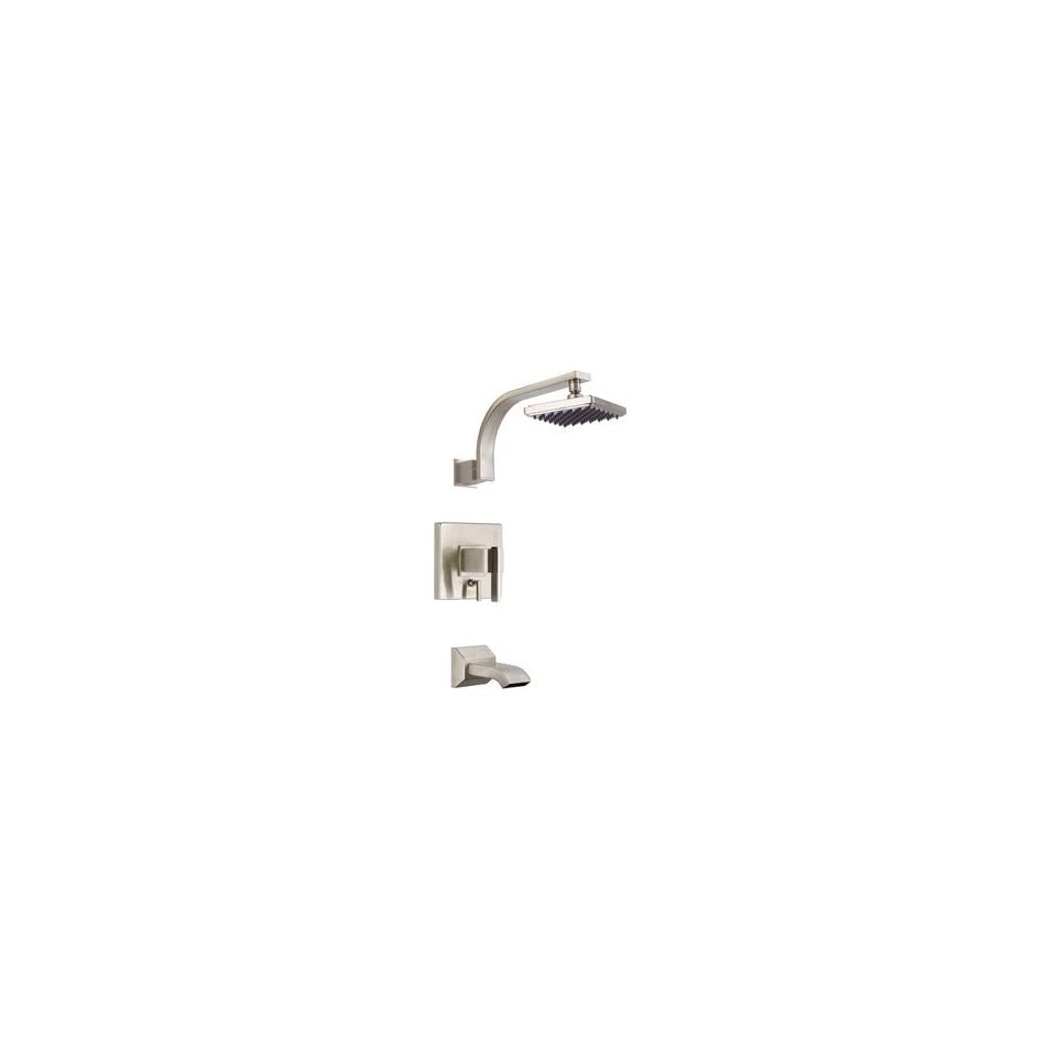 Danze D500044BN Sirius Single Handle Tub and Shower Faucet, Brushed Nickel