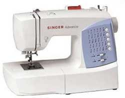 Singer 7422 - 30 Stitch Patterns, Drop-in Bobbin, Auto. Needle Threader