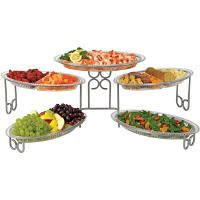 CreativeWare 5 Station Unbreakable Polycarbonate Buffet Server (B0023EIJWM)