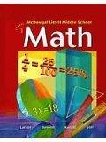 McDougal Littell Middle School Math: Teacher Edition Course 1 2005