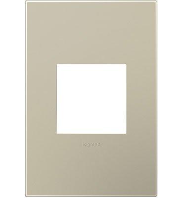 Legrand (AWP1G2TM6) adorne Titanium, 1-Gang Wall Plate