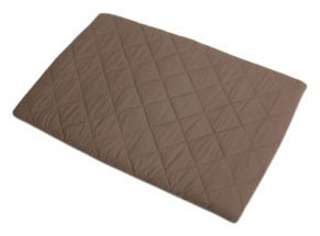 Graco Quilted Pack N Play Sheet, Arden Brown (Discontinued by Manufacturer)