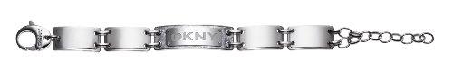 Ladies DKNY ID logo bracelet