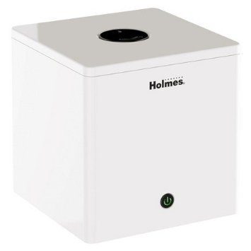 Holmes Ultrasonic Cube Humidifier (White) - 1