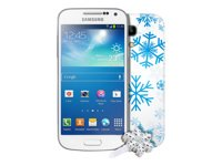 o2 Samsung Galaxy S4 mini ws Winteredition ohne Simlock, ohne Vertrag - Neutrales Cover auch im Lieferunfang