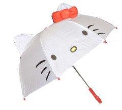 【即納】キャラクター ハローキティ 耳付き傘