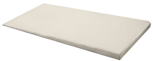 """Purerest Living Hi-Lo Memory Foam Mattress Pad Incline 1.5"""" To 4.5"""" Topper! (Cal King) With Bamboo Zipper Cover"""