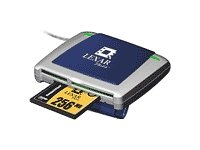 Lexar USB 2 0 High Speed Multi-Card ReaderB00009ECD7 : image