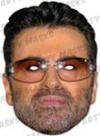 Partyrama George Michael Celebrity Cardboard Mask - Single