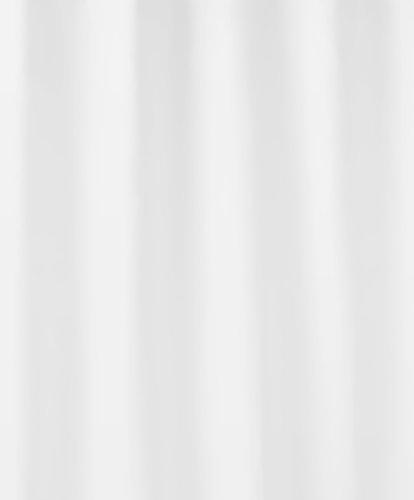 Kleine Wolke 4945100352 Duschvorhang Phönix, 240 x 180 cm, weiß