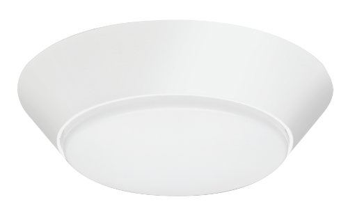 Lithonia Fmml 7 840 M6 Led 7-Inch Round Flush Mount Light, White