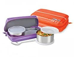 Nayasa Munch Lunch Box, Purple