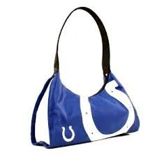 NFL Officially Licensed Indianapolis Colts Hype Hobo Handbag Purse by NFL