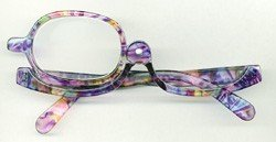 Peepers Makeup Eyeglasses with +2.5 Magnification