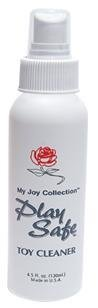 Bundle Play Adult Toy Cleaner W / Spray rose et