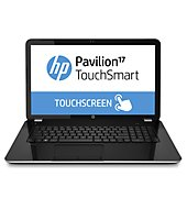 """Hp Pavilion 17-E155Nr Touchsmart Laptop Computer With 17.3"""" Touch-Screen Display & Amd Quad-Core A4-5000 Accelerated Processor,"""