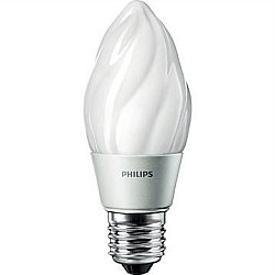 Philips 25W Equivalent Soft White (2700K) F15 Oudoor Post Dimmable Led Light Bulb