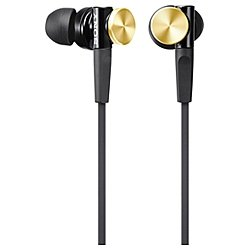 Sony In-Ear Dynamic Headphones Mdr-Xb70-N (Gold)