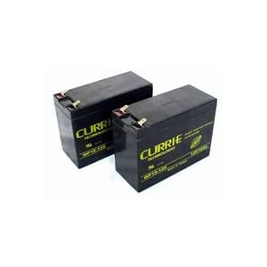 Volt Scooter Battery on Amazon Com  12 Volt 10 Amp Electric Scooter Batteries  Set Of 2