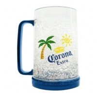 Amazon.com | Corona Extra Beer Gel 16 oz Freezer Mug: Beer