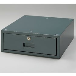 Stackable Steel Bench Drawer for Electronic Workstations - Color: gray