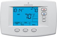 White Rodgers 1F95-0671 Blue Universal Multi-Stage or Heat Pump 7-Day Programmable Digital Thermostat