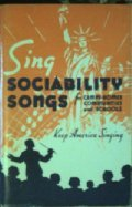 Sing Sociability Songs by Unknown