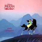 Cal 99 Disney's Mulan Calendar