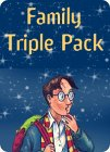 Harry Potter and the Order of the Phoenix (Book 5) - Family Triple Pack