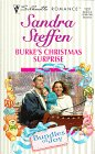 img - for Burke's Christmas Surprise (Sandra Steffen, Silhouette Romance, No. 1337, Bundles of Joy) book / textbook / text book