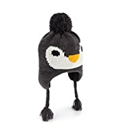 Penguin Knitted Trapper Hat