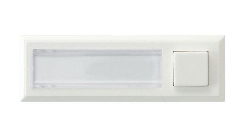 0504215555 Klingelplatte beleuchtet, weiß